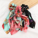New fashion retro printed floating towel cheap scrunchies wholesale NHJE212686