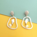 New fashion acetate plate acrylic earrings for women NHJJ212728