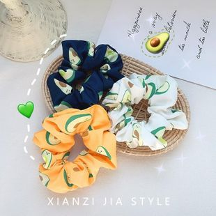 New avocado retro satin cheap scrunchies wholesale NHOF212743's discount tags