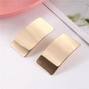 New fashion creative wild geometric alloy earrings wholesale NHZU212760