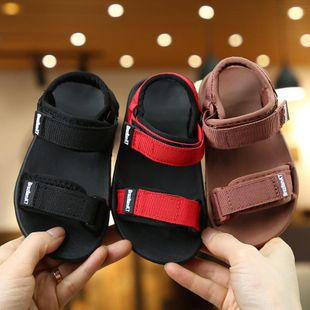 Children's sandals summer canvas fashion cute beach sandals and slippers wholesale NHPI212863's discount tags