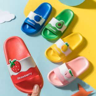 Children's slippers summer cute cartoon fruit parent-child models boys and girls sandals and slippers NHPI212864's discount tags