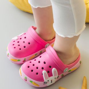 Children's hole shoes summer new rubber and plastic EVA cartoon cute monkey beach hole shoes NHPI212870's discount tags
