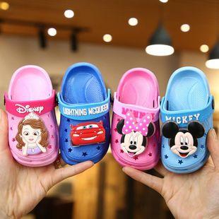 Zapatillas de verano para niños nuevas sandalias y zapatillas Marvel para niños zapatillas de playa antideslizantes para niños zapatos de agujero para niños al por mayor nihaojewelry NHPI212885's discount tags