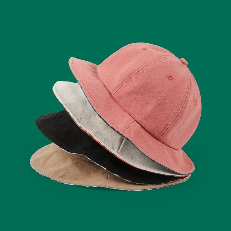 New simple summer sunscreen basin hat cotton sun hat NHTQ212984