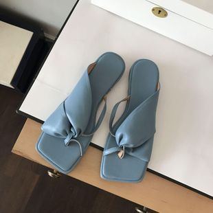 Summer new simple sandals fashion wild flat comfortable sandals wholesale NHEH213010's discount tags
