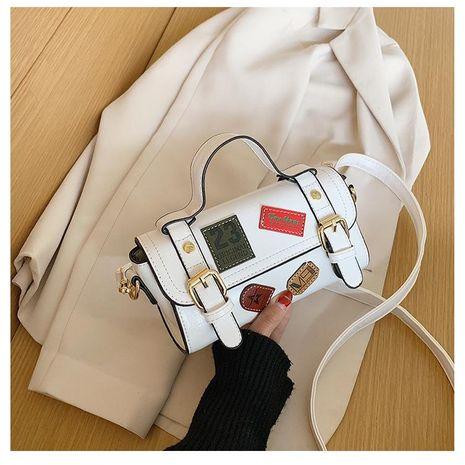 Sac noir pour femme en gros nihaojewelry nouvelle version coréenne du sac messager sauvage rétro sac à bandoulière mode texture sac à main NHTC213085's discount tags