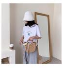 Women39s bag wholesale nihaojewelry new fashion straw bag messenger bag handbag NHTC213104