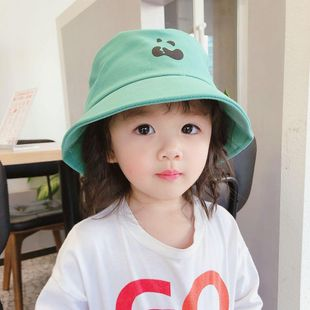 Sombrero de protección solar para niños Protección UV niña sol pescador sombrero de sol para bebé sombrero de cuenca de playa delgada de verano NHTQ206888's discount tags