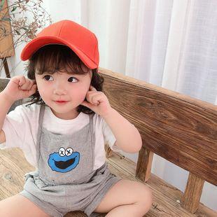 Nuevo sombrero de color sólido tablero de luz Gorra de béisbol salvaje coreana hombres y mujeres bebé sombrero para el sol al aire libre NHTQ206905's discount tags