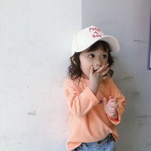 Summer boy gorra de pico sombrero de sol de verano hembra bebé niño gorra de béisbol sombrero de sol delgado NHTQ206906's discount tags