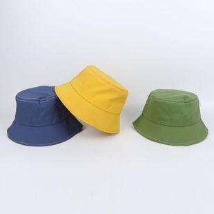 Red pescador rojo sombrero primavera y verano versión coreana femenina del sombrero para el sol japonés protección solar masculina sombrero para el sol marea color sólido cuenca sombrero fabricantes NHTQ206908's discount tags