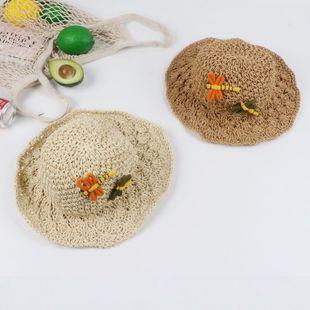 Nueva moda de verano sombrero de paja sombrero para el sol protector solar vacaciones junto al mar salvaje sombrero grande NHTQ206913's discount tags