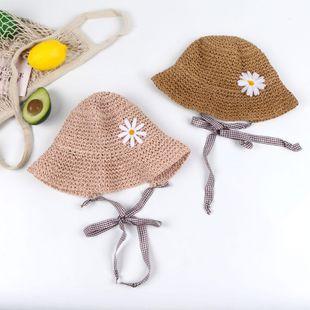 Sombrero para el sol, hombres y mujeres, sombrero de paja para bebés, sombrero de moda para niños de primavera y verano, sombrero de encaje NHTQ206917's discount tags