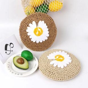 Nueva moda Daisy Hat Summer Thin Pumpkin transpirable Sombrero al por mayor NHTQ206925's discount tags