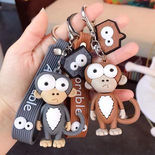 Lindo mono de dibujos animados divertido llavero mono llavero bolso de escuela muñeca colgante al por mayor NHBM206971's discount tags