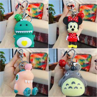 Cute cartoon mixto muñeca llavero coche llavero bolso colgante al por mayor NHBM206977's discount tags
