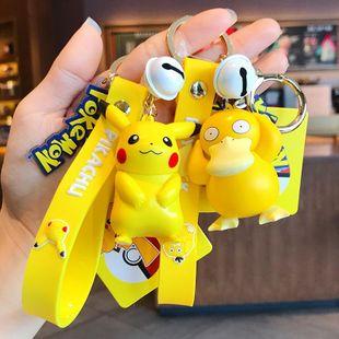 Pikachu llavero hembra de dibujos animados muñeca linda llavero colgante mochila colgante al por mayor NHBM206978's discount tags