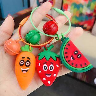 Colgante de cuerda de alambre de fruta de epoxi simple llavero de dibujos animados lindo bolso de encanto al por mayor NHBM206984's discount tags