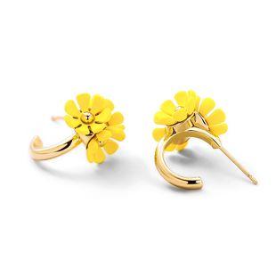 Nueva moda dulce flores elegantes pendientes para mujeres al por mayor NHPP213197's discount tags