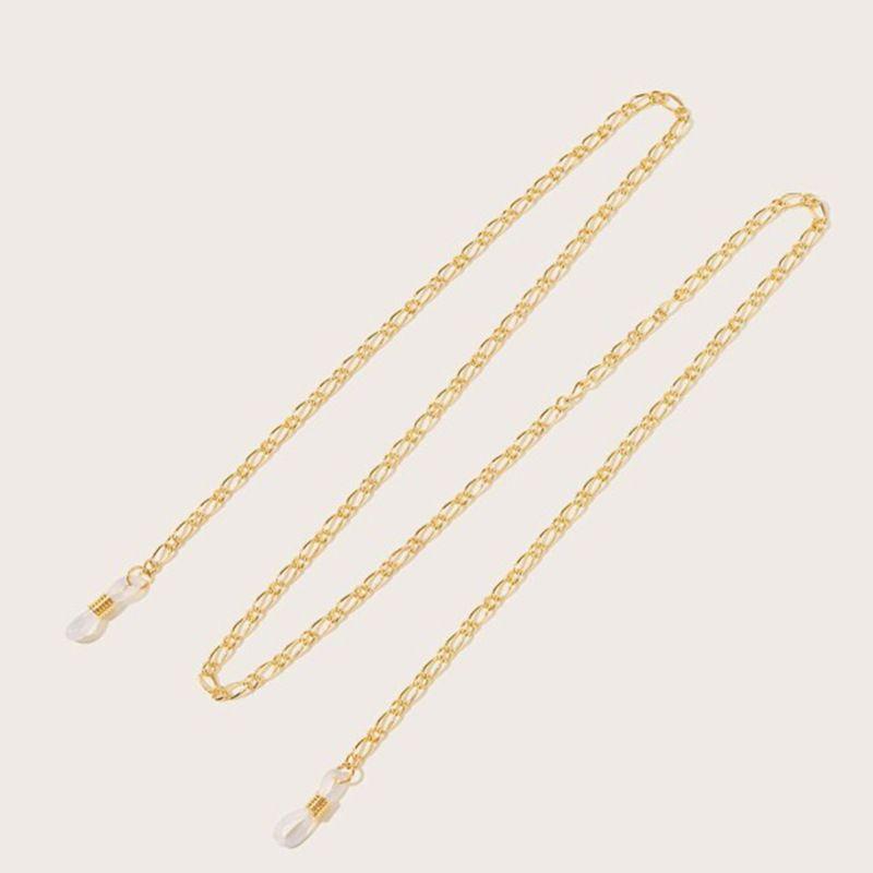 Fashion accessories retro geometric tassel accessories frosty wind U-shaped glasses chain nihaojewelry wholesale NHNZ213257