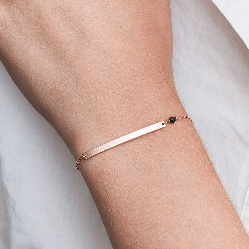 Korean style stainless steel jewelry simple word smile bracelet fashion stainless steel bracelet wholesale yiwu nihaojewelry NHJJ213306