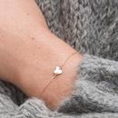 Korean fashion heartshaped bracelet stainless steel bracelet wholesale yiwu nihaojewelry simple jewelry romantic Valentine39s Day gift bracelet NHJJ213312