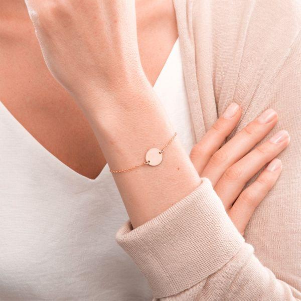 Fashion large round bracelet temperament simple jewelry romantic Valentine's Day gift stainless steel bracelet wholesale yiwu nihaojewelry NHJJ213320