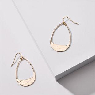 Nueva moda latón geométrico pendientes de gota nihaojewelry al por mayor NHLU213376's discount tags