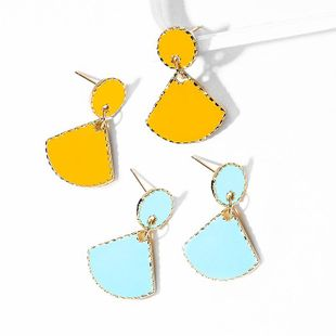 925 Silver Pin Scalloped Wild Earrings for women wholesale NHPP207204's discount tags