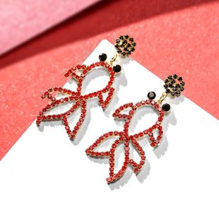New fashion red fish earrings for women wholesale NHPP207220's discount tags