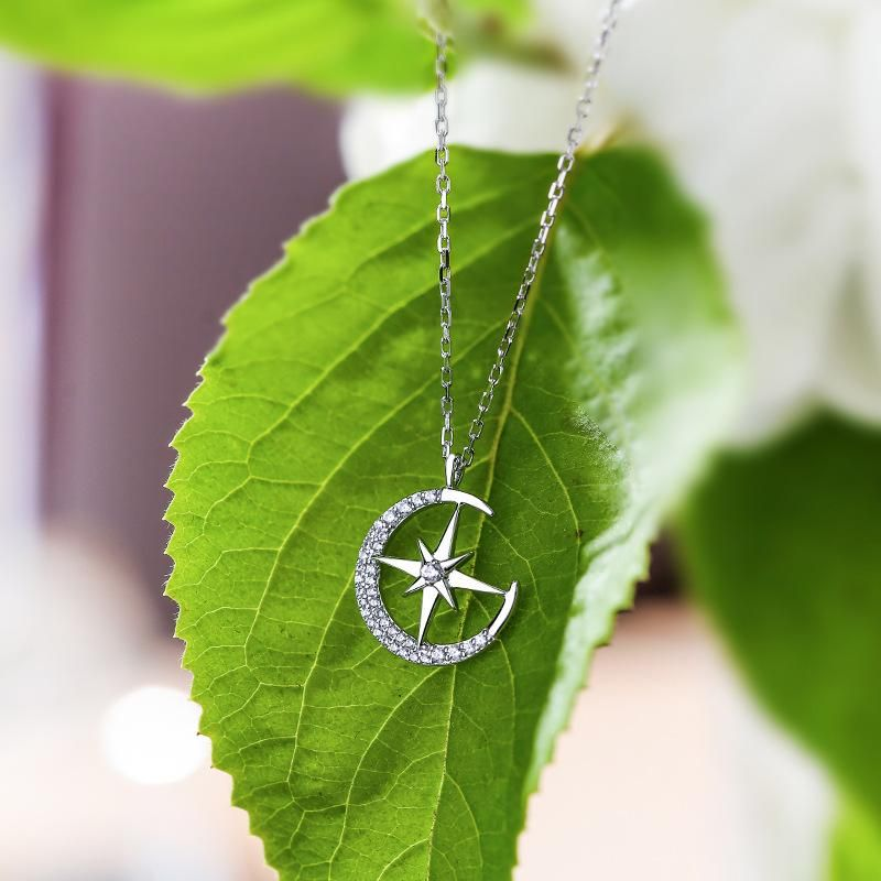 The new simple Xingyue pendant simple necklace for women wholesale NHPP207224