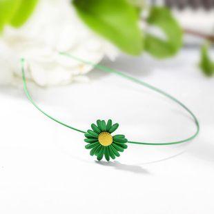New simple fashion sun flower daisy cheap headband wholesale NHPP207228's discount tags