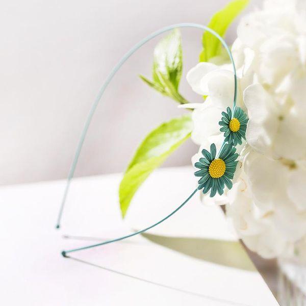 The new simple and fresh sweet daisy cheap headband female wholesale NHPP207229