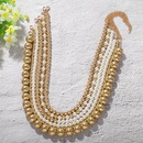 New fashion simple handmade pearl necklace for women wholesale NHJQ207233