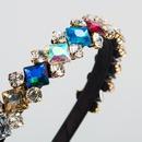 New fashion diamond hair accessories glass diamond baroque cheap headband wholesale NHLN207241