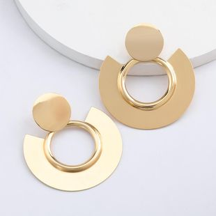 New geometric round earrings for women wholesale NHJE207242's discount tags