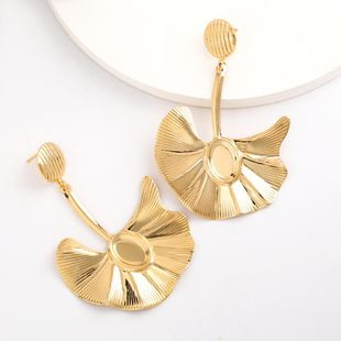 New fashion alloy leaf earrings for women wholesale NHJE207252's discount tags