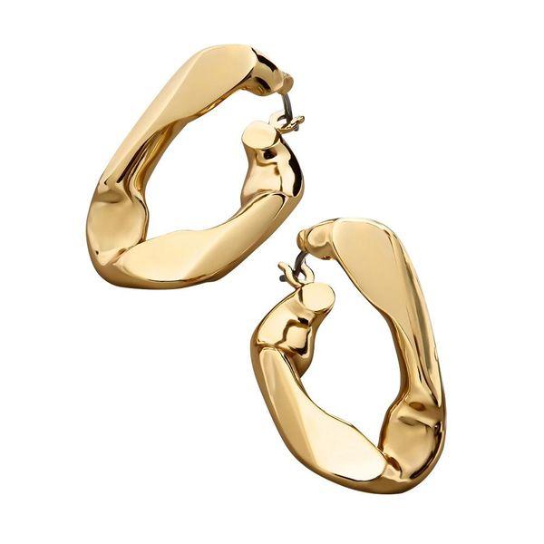 New irregular twisted earrings for women wholesale NHLL207289
