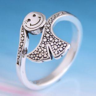 Moda vintage cola de pez anillo abierto yiwu nihaojewelry al por mayor NHSC207491's discount tags