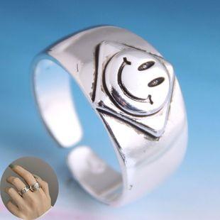 Moda retro smiley anillo abierto yiwu nihaojewelry al por mayor NHSC207492's discount tags