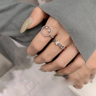 Moda retro smiley anillo abierto yiwu nihaojewelry al por mayor NHSC207501's discount tags