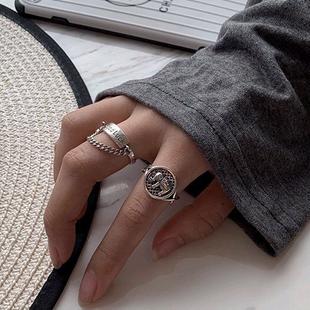 Elefante retro de moda anillo abierto yiwu nihaojewelry al por mayor NHSC207508's discount tags