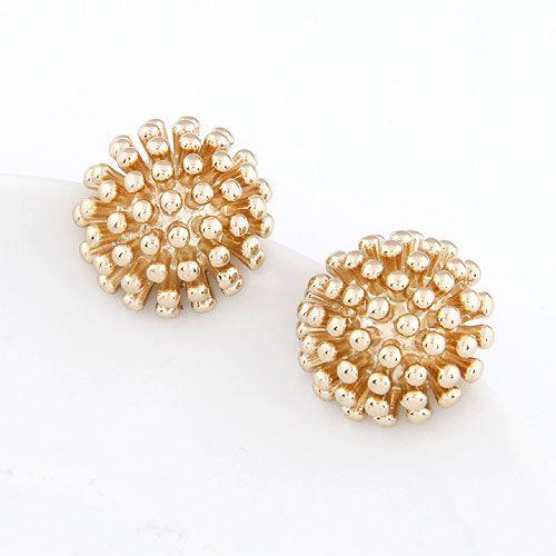 Boutique Korean fashion rivet temperament earrings wholesale NHSC207529