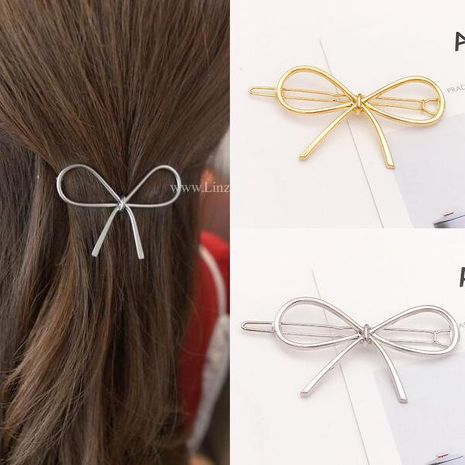 New fashion bow sweet and simple cheap hairpin wholesale NHDQ207420's discount tags