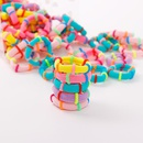 Korean children39s hair accessories girls 100 boxed towel ring baby hair ring rubber band hair rope NHNA207459
