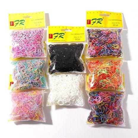 1000 pièces de bande de caoutchouc jetable coréenne chouchous bon marché en gros NHNA207465's discount tags