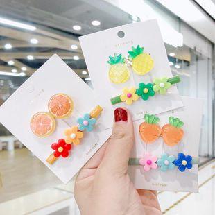 Nueva moda fruta lado clip color flor barata horquilla al por mayor NHNA207476's discount tags