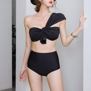 New fashion sexy triangle split swimsuit wholesale NHHL207551's discount tags