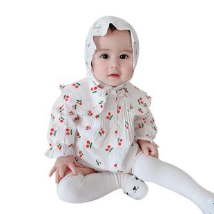 Spring new baby onesies triangle children's clothing wholesale NHTV207611's discount tags